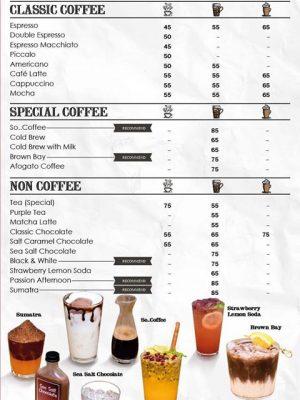 menu so1